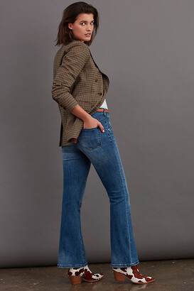 Pilcro And The Letterpress Pilcro Ultra High-Rise Bootcut Jeans By in Blue Size 24