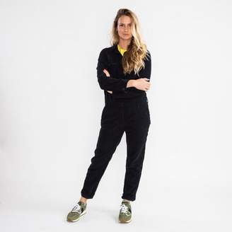 Hartford Party Black Corduroy Jumpsuit - 3 | UK 12