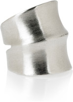 Jacinda silver plated ring