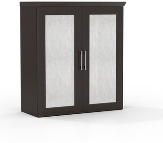 Austin 2 Door Storage Cabinet Symple Stuff Finish: Textured Mocha