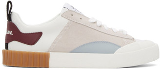 Diesel White S-Bully SC Sneakers