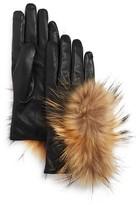 Echo Asiatic Raccoon Fur Tech Gloves