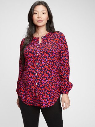 Gap Maternity Button-Front Shirt