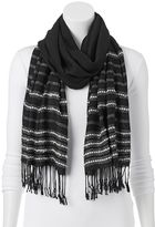 Apt. 9 Boucle Striped Oblong Scarf