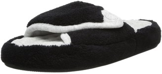 Isotoner Women's Microterry Pillowstep Spa Slide