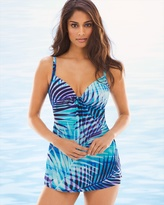 Soma Intimates Palm Reader Marina Tankini Swim Top