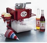 Waring Red Metallic Snow Cone Maker