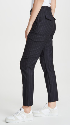 Zadig & Voltaire Palmy Pinstripe Pants