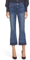 Frame Women's Released Hem Crop Mini Bootcut Jeans