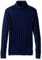 Gant Men's Ribbed Turtleneck Sweater