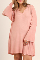 Umgee USA Pink Swing Dress