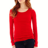 JCPenney STYLUS Stylus Long-Sleeve Crewneck T-Shirt