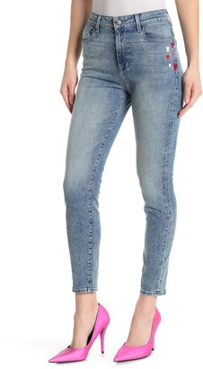 Fidelity Gwen Cropped High Rise Skinny Cropped Jeans