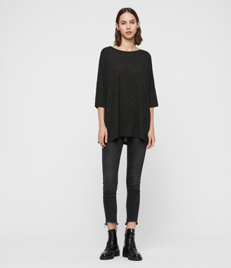 AllSaints Plira Shimmer T-Shirt