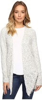Christin Michaels Farren Dolman Sleeve Cardigan with Fringe
