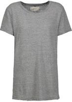 Current/Elliott The Petit Striped Cotton-Jersey T-Shirt