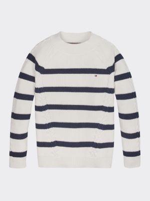 Tommy Hilfiger Nautical Stripe Organic Cotton Jumper