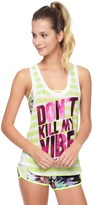 Juicy Couture Dont Kill My Vibe Canyon Jersey Tank