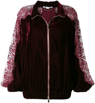 Stella McCartney Lace Panel Track Jacket