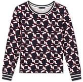 Petit Bateau Womens printed sweatshirt