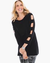 Chico's Sydnie Sleeve-Cutout Tunic