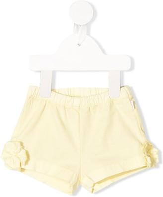 Il Gufo Flower Detail Shorts