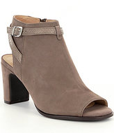 Nurture Larah Buckle Peep-Toe Shooties