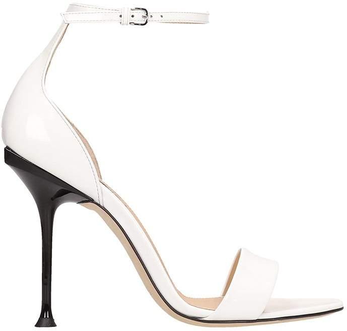 Sandals Patent Patent Patent Sandals White White White Leather Leather TOPXiZku