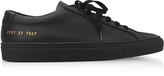 Common Projects Black Leather Achilles Original Low Top Women's Sneakers
