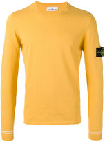 Stone Island crew neck jumper - men - Cotton - M