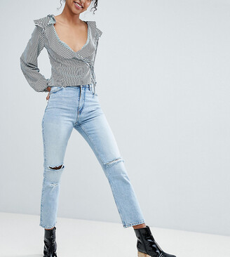 Monki Ripped Knee Moluna Jeans