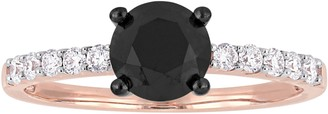 Black Diamond Affinity Diamond Jewelry Affinity 1.20 cttw Ring, 14K Rose Gold