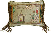 One Kings Lane Vintage Scalamandré Ping Chinoiserie Pillow