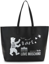 Love Moschino Love In The City Tote