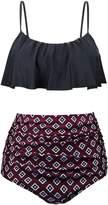 Annigo Bathing Suits for Women Two Piece High Waisted Bikini Bottom