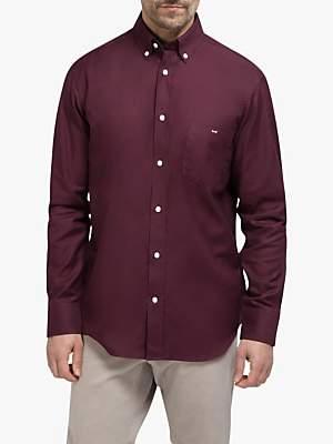 Eden Park Cotton Regular Fit Shirt, Burgundy