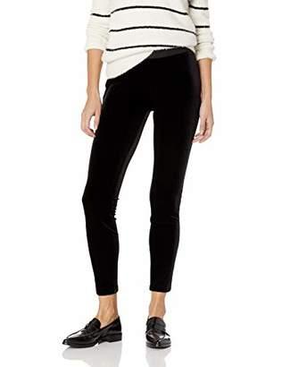 Chaus Women's Solid Velvet Legging