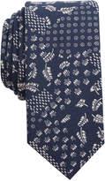Bar III Men's Patchwork Print Slim Tie, Only at Macy's
