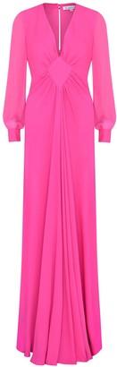 Libelula Long Jessie Dress Bubblegum Pink Georgette