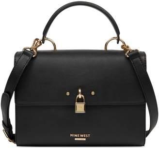 Nine West Snap-Flap Top Handle Bag