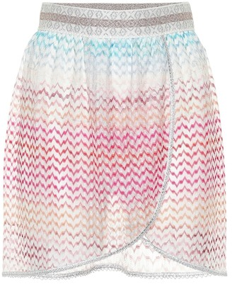 Missoni Mare Crochet knit miniskirt