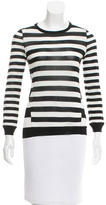 Jason Wu Striped Silk Top