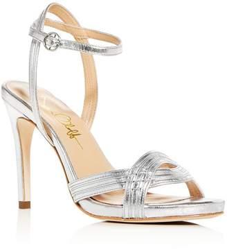 Joan Oloff Women's Gala Ankle-Strap High-Heel Sandals