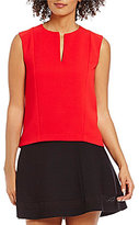 Armani Exchange Classic V-Neck Sleeveless Shell