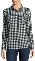 ST. JOHN'S BAY St. John's Bay Talls Flannel Shirt