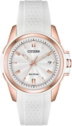 AR+ Citizen Drive Analog Drive AR Naismith Commemorative White Stainless Steel Watch