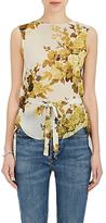Robert Rodriguez Women's Floral Silk Chiffon Top