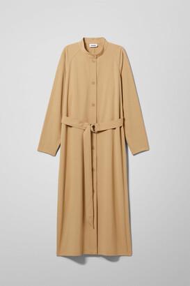 Weekday Ines Dress - Beige