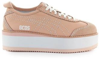 GCDS By Onitsuka Tiger Mexico Pink Platform Sneaker
