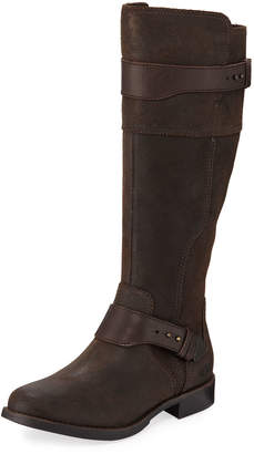 UGG Dayle Brushed Leather Boots